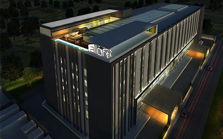 Aloft Bangalore by Morpogenesis