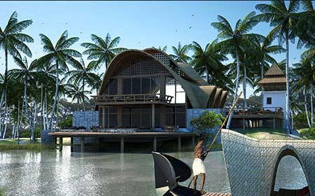 Kumarakom Resort Kerala by Morpogenesis