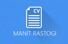 Manit Rastogi CV