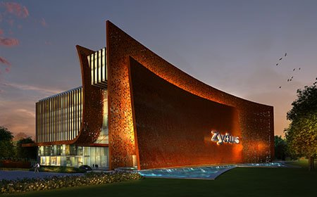 Corporate Office Ahmedabad Zydus by Morpogenesis