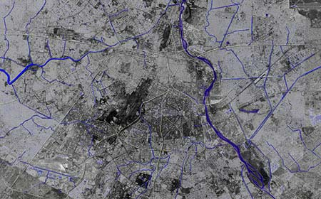 Nullahs Delhi by Morpogenesis