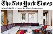 Publication on The New York Times - Morphogenesis
