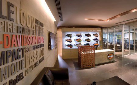 Harley davidson office Gurgaon by Morpogenesis