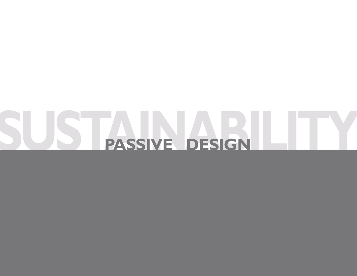 blog - SUSTAINABILITY Passive Design 02