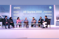 Our Founder Partner, Sonali Rastogi at the HP Skyline 2050 in New Delhi where she spoke about 'Building the Future Skyline - Role of Innovation and Technology'.
